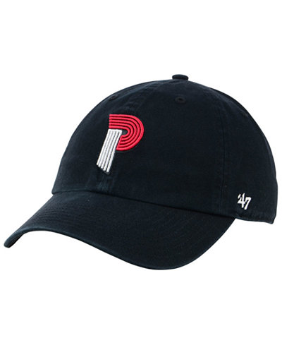 '47 Brand Portland Trail Blazers Mash Up CLEAN UP Cap