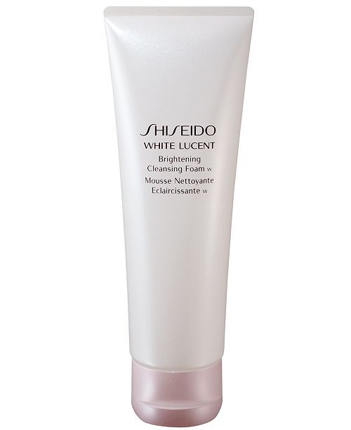Shiseido White Lucent Brightening Cleansing Foam 4.7 oz.
