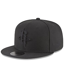 New Era Houston Rockets Blackout 59FIFTY Fitted Cap