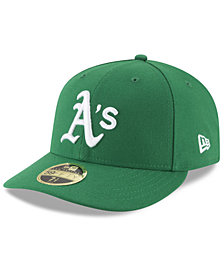 New Era Oakland Athletics Low Profile AC Performance 59FIFTY Fitted Cap