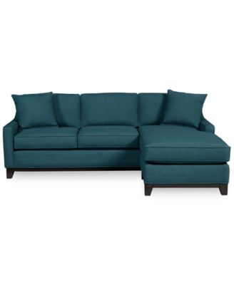 Furniture Keegan 90 2 Piece Fabric Sectional Sofa Furniture Macys