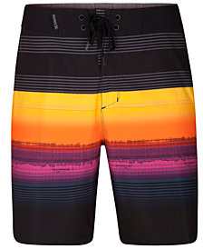 "Hurley Men's Phantom Gaviota Stripe 18"" Board Shorts"