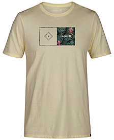 Hurley Men's Calling All Floral Graphic T-Shirt