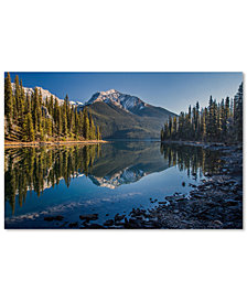 "Pierre Leclerc 'Jasper Morning' 30"" x 47"" Canvas Wall Art"