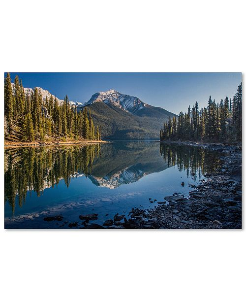 "Trademark Global Pierre Leclerc 'Jasper Morning' 30"" x 47"" Canvas Wall Art"
