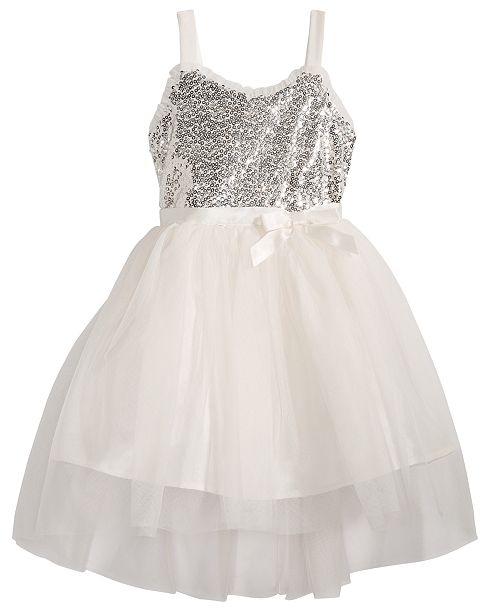 2e044cf3c3ad Pink & Violet Little Girls Sequin Ballerina Dress & Reviews - Dresses ...