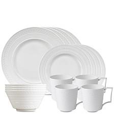 Wedgwood Intaglio 16-Pc. Dinnerware Set, Service for 4