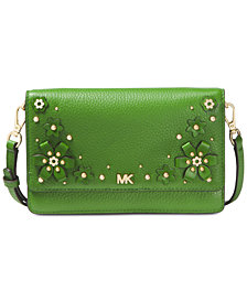 MICHAEL Michael Kors Flower Garden Phone Wallet Crossbody