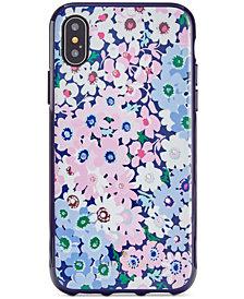 kate spade new york Jeweled Daisy Garden iPhone X Case