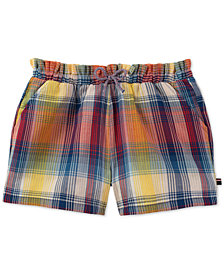 Tommy Hilfiger Big Girls Plaid Soft Cotton Shorts