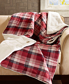 "Woolrich Tasha Reversible 50"" x 70"" Softspun Down-Alternative Throw"