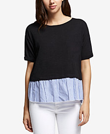 Sanctuary Skye Lace-Up-Back T-Shirt