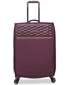 "DKNY Allure 25"" Quilted Softside Spinner Suitcase"