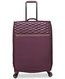 "DKNY Allure Quilted Softside 25"" Upright Spinner Suitcase"