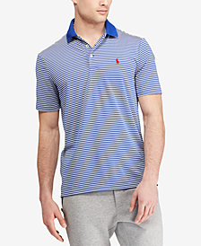 Polo Ralph Lauren Men's Striped Active Fit Performance Stretch Polo