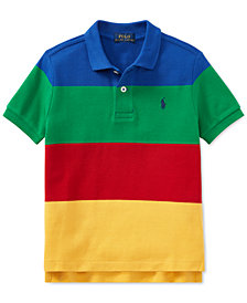 Ralph Lauren Big Boys CP-93 Cotton Mesh Polo Shirt