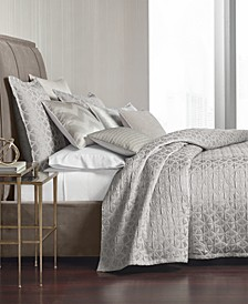 Interlattice Quilted Coverlet & Sham Collection, Created for Macy's