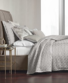 Hotel Collection Interlattice Quilted Coverlet & Sham Collection, Created for Macy's