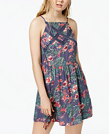 Roxy Juniors' Summer Navajo Printed Fit & Flare Dress