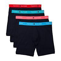 Macys deals on Tommy Hilfiger Men's 4-Pk.Cotton Classic Boxer Briefs