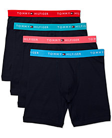 Tommy Hilfiger Men's 4-Pk. Cotton Classic Boxer Briefs