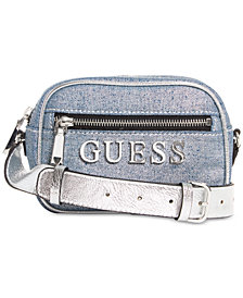 GUESS Manhattan Denim Crossbody