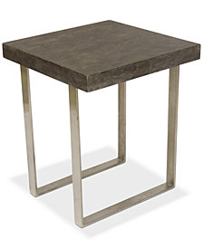 Portland End Table, Quick Ship