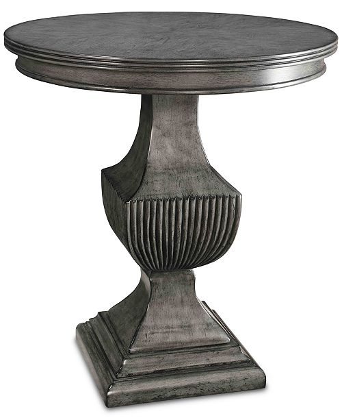 Coast to Coast Magnet Round Accent Table, Quick Ship
