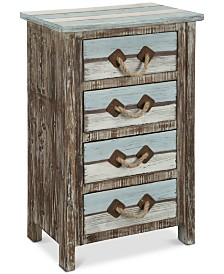 Islander 4-Drawer Chest, Quick Ship