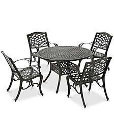 Santa Rosa 5-Pc. Outdoor Set, Quick Ship