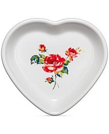 Fiesta Floral Bouquet Medium Heart Bowl