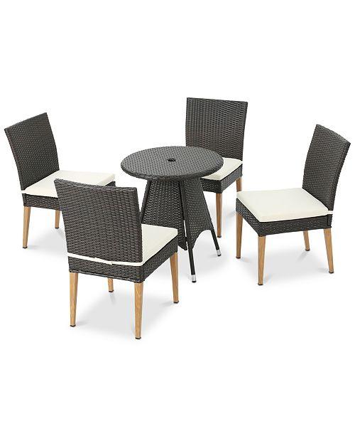 Furniture San Luis 5-Pc. Outdoor Dining Set, Quick Ship