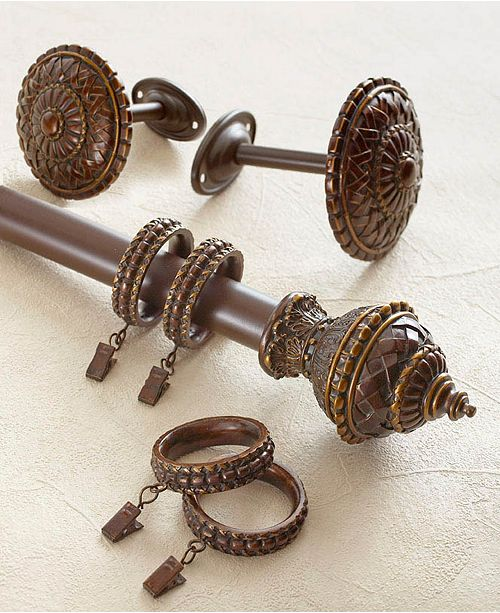 Croscill Fortunata Window Hardware Collection