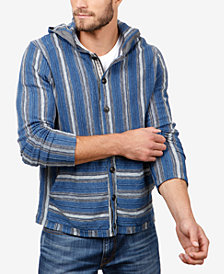 Lucky Brand Men's Baja Striped Hoodie