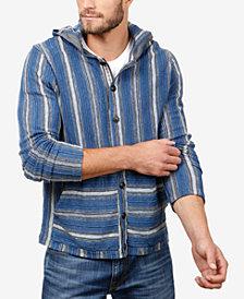 Lucky Brand Men's Baja Striped Hoodie