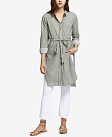Sanctuary Teagan Cotton Belted Tunic