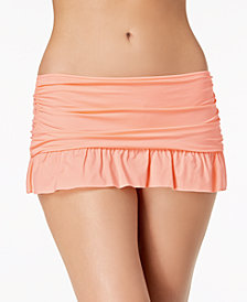 Kenneth Cole Ready to Ruffle Swim Skirt