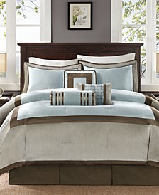 Genevieve 7-Pc. California King Comforter Set