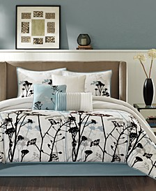Matilda 7-Pc. California King Comforter Set