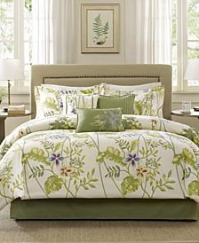 Kannapali 7-Pc. California King Comforter Set