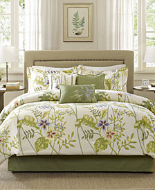 Madison Park Kannapali 7-Pc. Queen Comforter Set