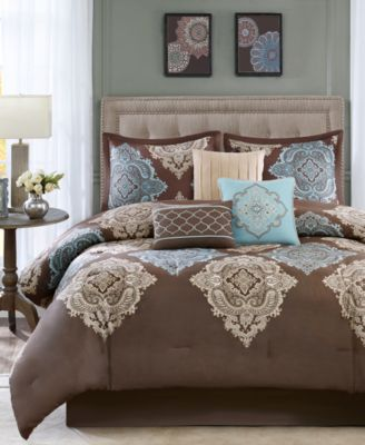 Monroe 7-Pc. Queen Comforter Set