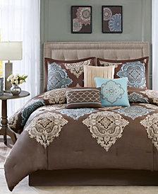 Madison Park Monroe 7-Pc. Queen Comforter Set