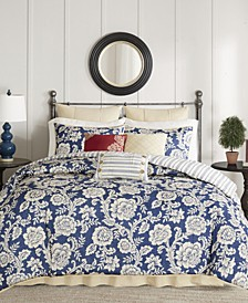 Lucy Cotton Reversible 9-Pc. Bedding Sets