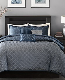 Madison Park Biloxi 6-Pc. Duvet Cover Sets