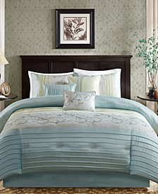 Serene 7-Pc. California King Comforter Set