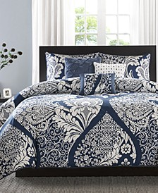 Vienna 6-Pc. King/California King Duvet Cover Set