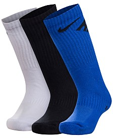 Nike 3-Pk. Crew Socks, Little Boys