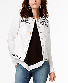 I.N.C. Embellished Jacket, Created for Macy's