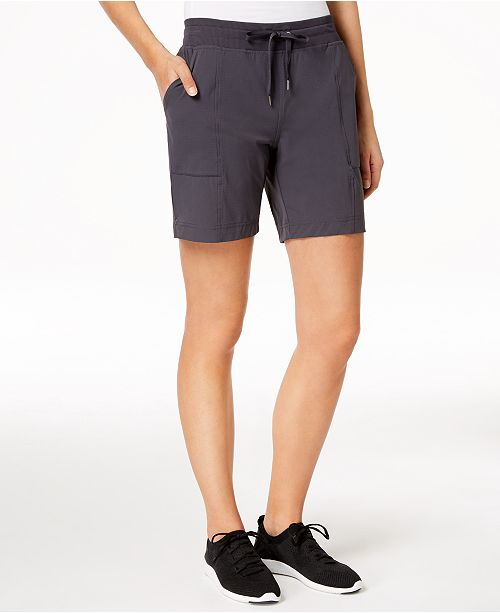 Ideology Macy's Deep Woven Shorts Created Performance for Charcoal F7q4Fw